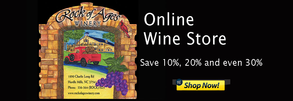 Rock of Ages Winery North Carolina Online Wine Store